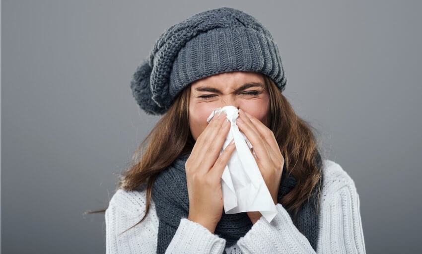 Interior insulation tip: If you do get sick, take care of yourself to get healthier much faster.