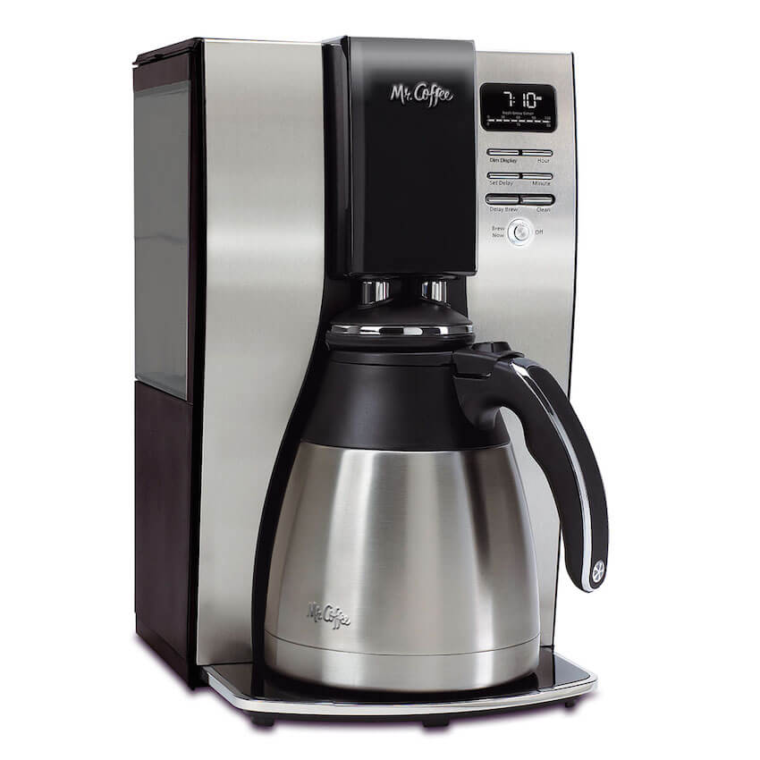 The classic Mr. Coffee home kitchen appliance