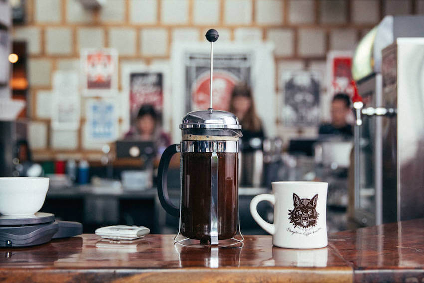 Using a regular kitchen appliance such as a French Press is fairly quick for a delicious coffee.
