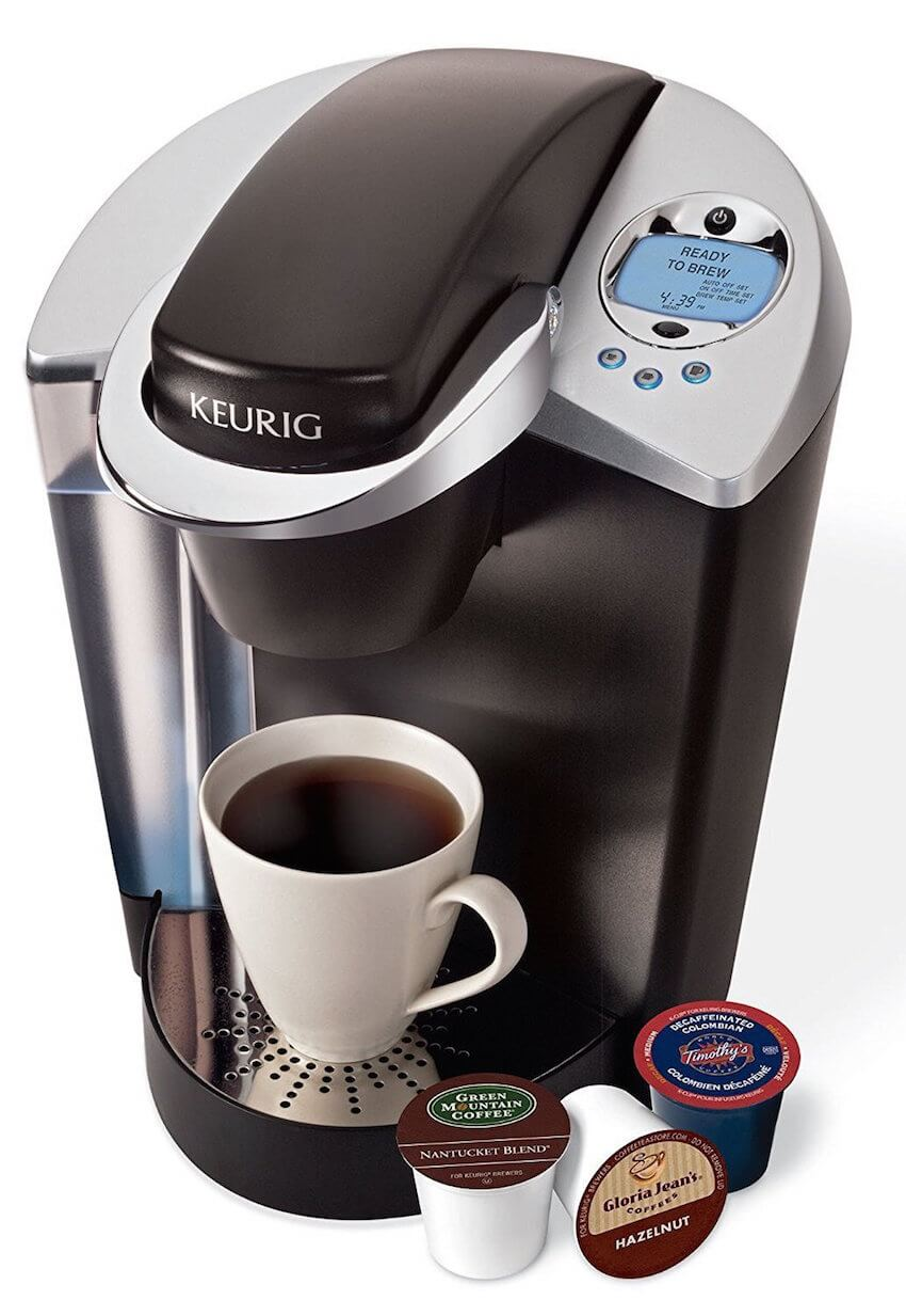 Keurig home kitchen appliances are super fast for a quick cup.
