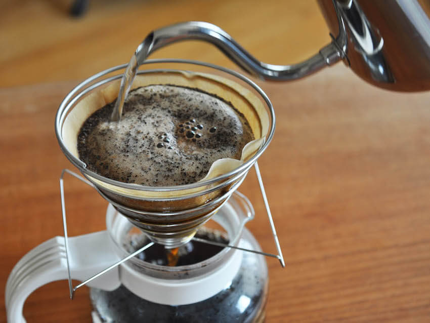 In the home kitchen, pour overs are prized by coffee enthusiasts.