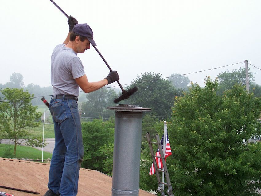 Chimney sweeps for professional chimney cleaning.