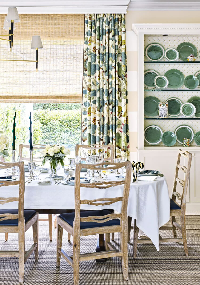 Curtains are the Jack-of-all-trades in decorating!