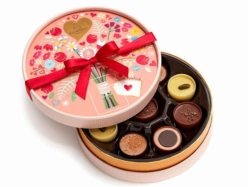 Romantic Chocolate Box