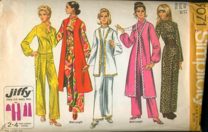 Being the decade of disco fever and later on the time for punk fashion, the '70s has a great variety of styles!