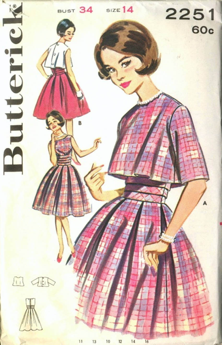 The 1960s came with influence from the '50s and for British culture!