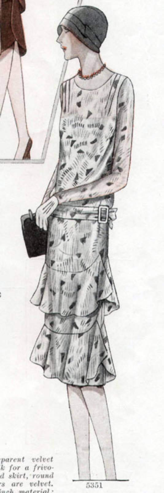The 1920s were marked by accessorization of women!