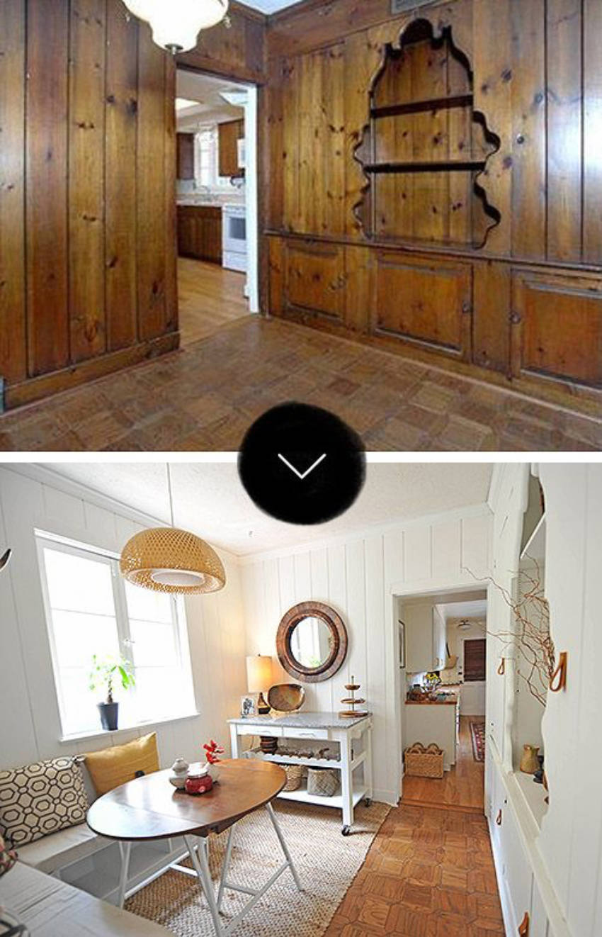 Go from blah to WOW with a coat of paint!