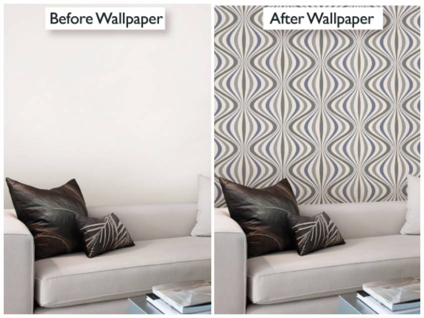 Simple wallpaper installations to blow you mind!