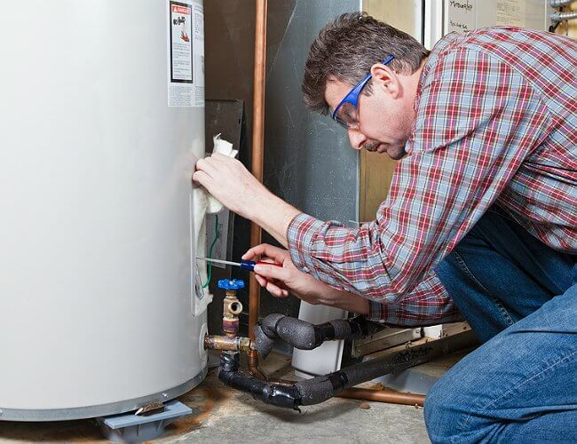 A water heater flush is always needed for older models