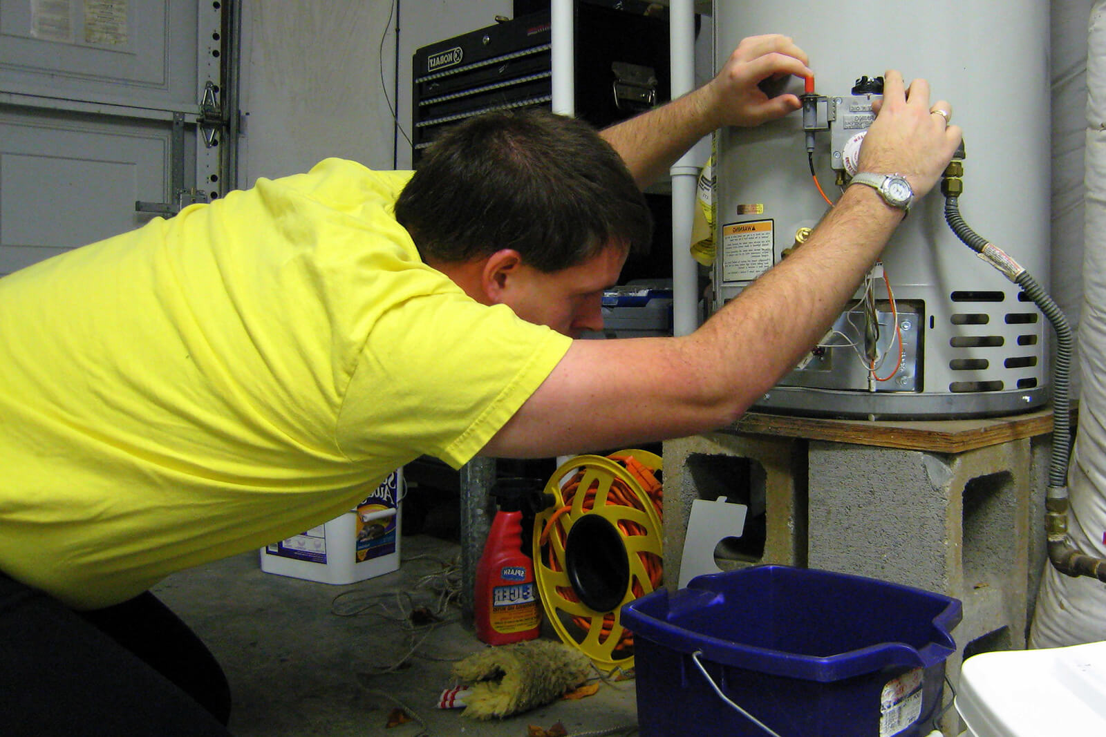 A professional can help with your water heater woes