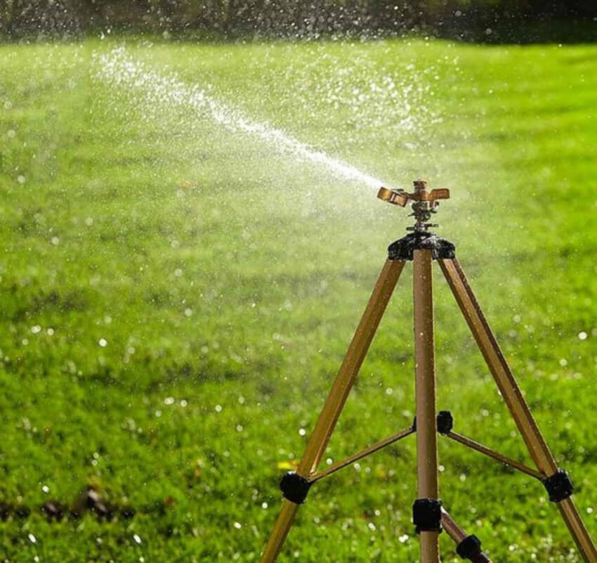 Make your sprinklers more energy-efficient.