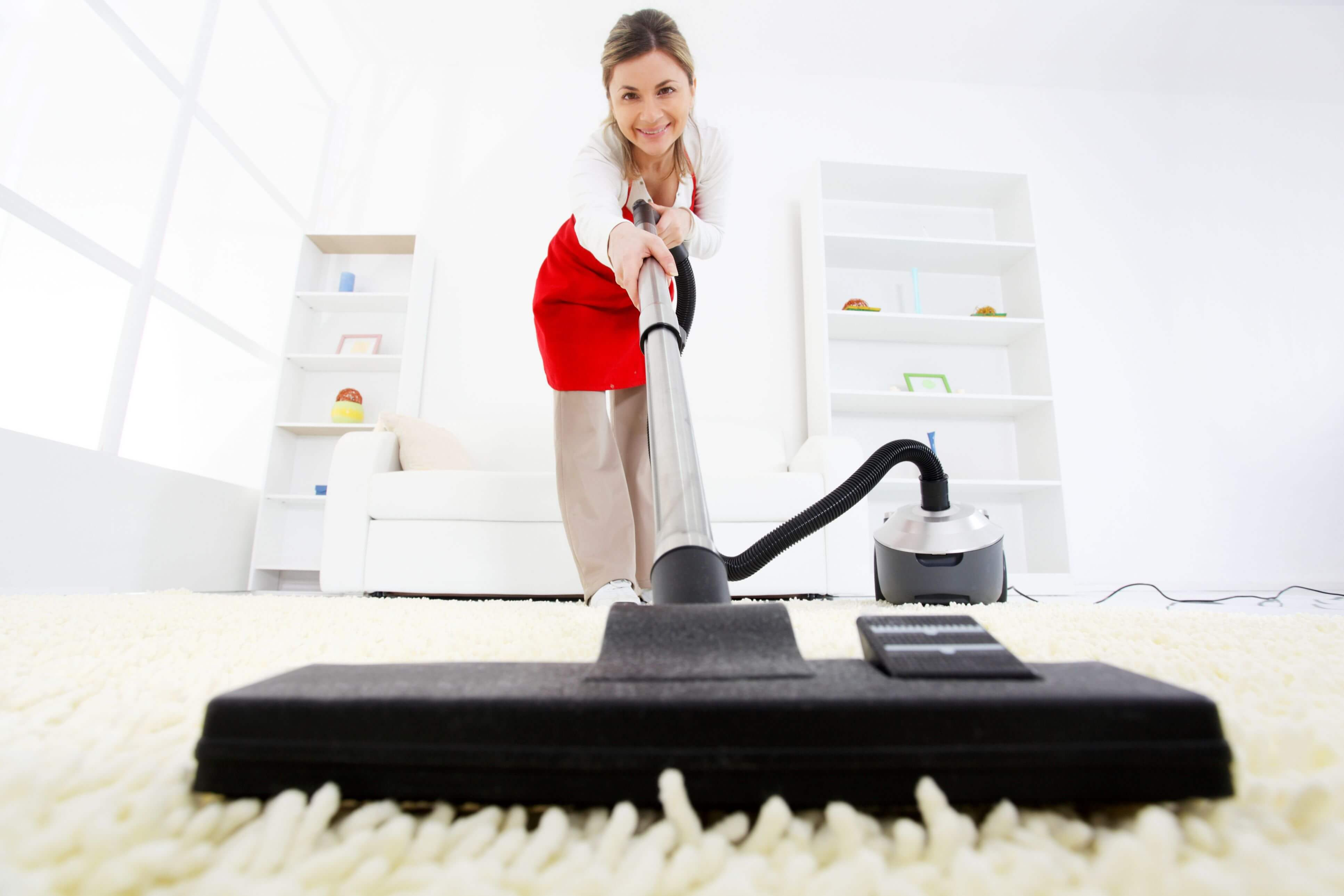 Be sure to vacuum every nook and cranny