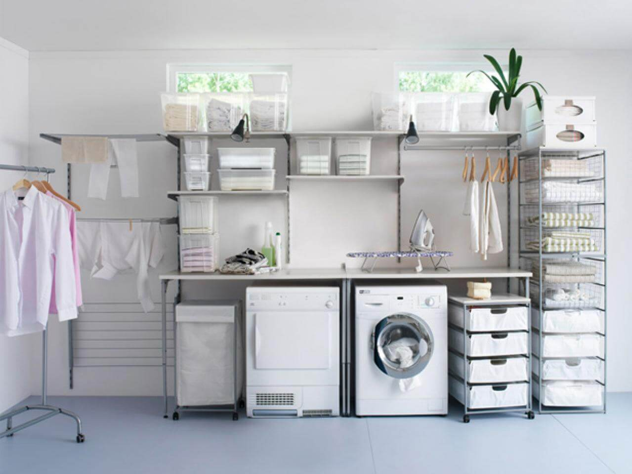 A solid washer and dryer are what you need