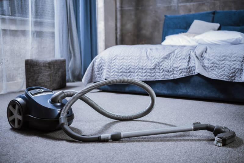 Vacuum your floor.
