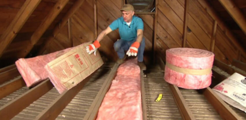 Insulation is one of the things the weatherization program includes.
