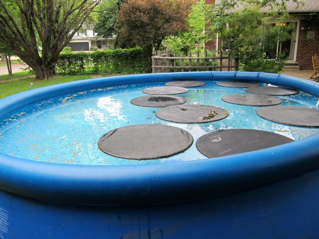How to heat an above ground pool