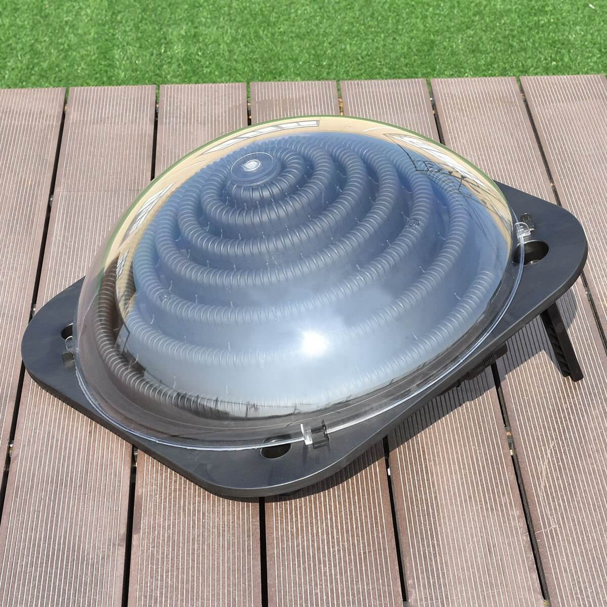 There are even solar panel pool heaters