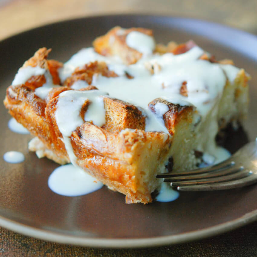 The best bread pudding of your life!