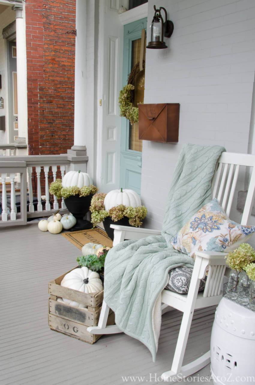 The best way to show you love fall is by decorating your porch!