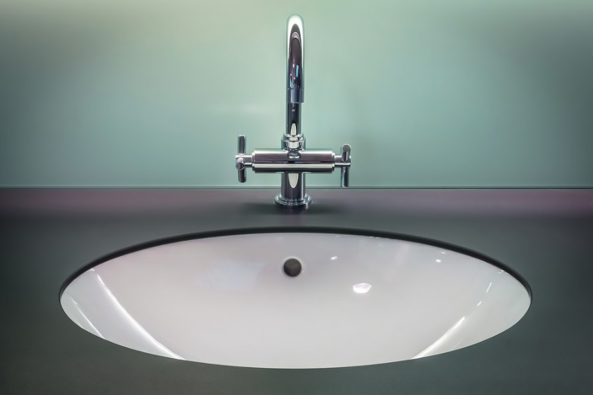 Replace the washer for a noise-free faucet.