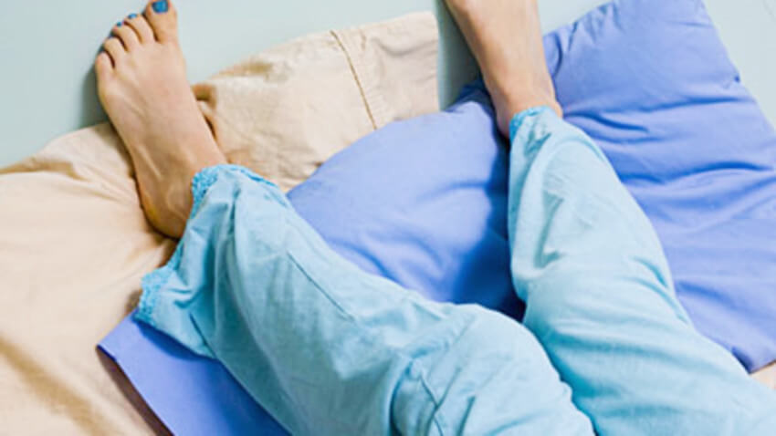 Restless legs can get in the way of your sleep quality without you noticing it.