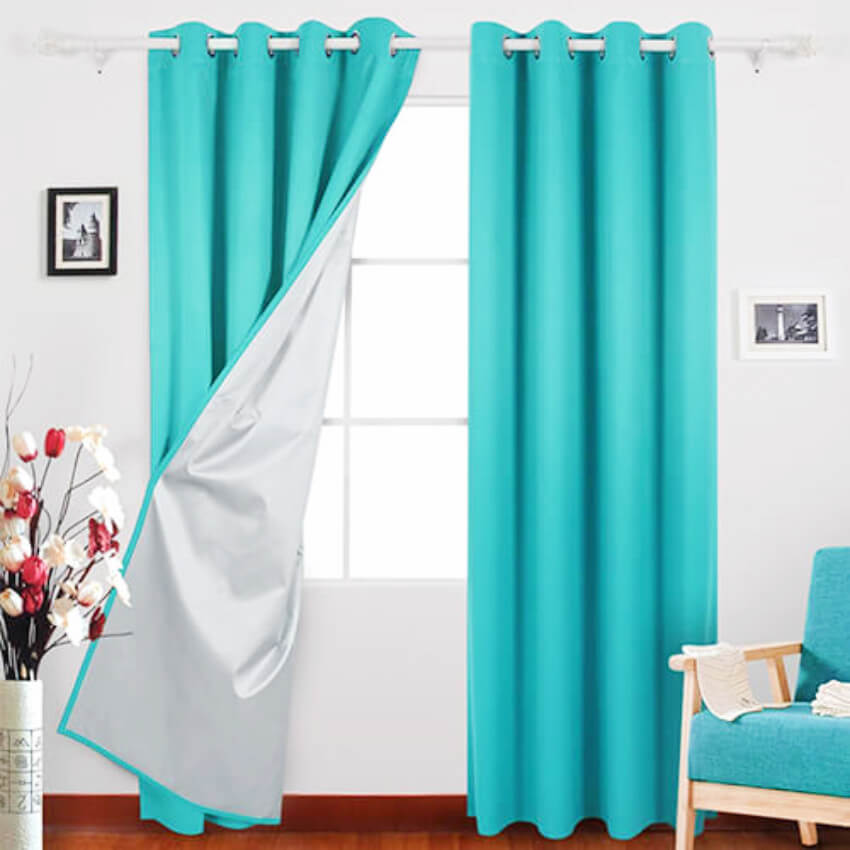 Curtains and insulation all-in-one!