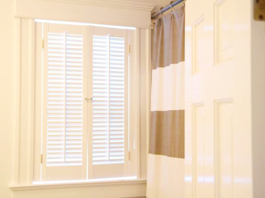 Shutters make it easier to control the light entering a room!
