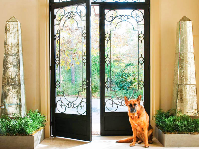 5 Wrought Iron Doors That Are True Show Stoppers