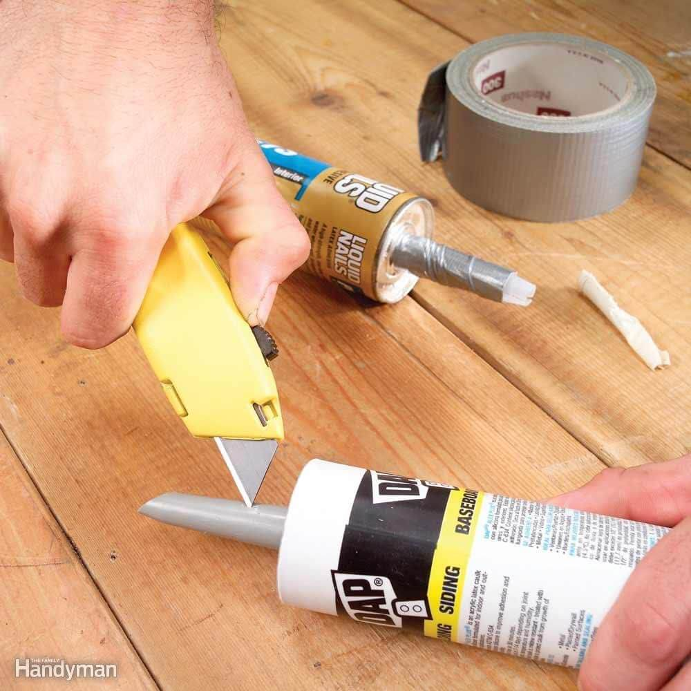 Get the most out of your caulk