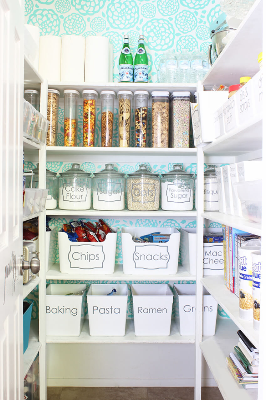 Labels and storage options that are practical are perfect for Aquarians to take advantage of!