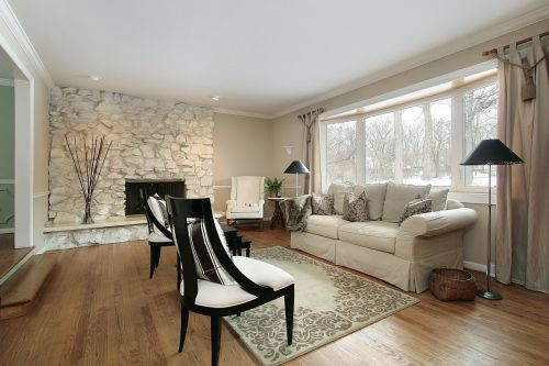 Quiet, Compassionate Winter Wonderland Getaway Living Room
